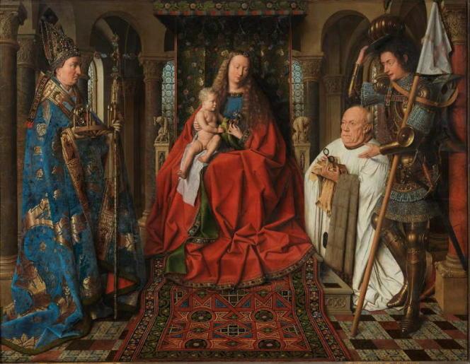 Précisison des images et sens des couleurs : le site consacré à Jan Van Eyck étonne par le sens - notamment - accordé aux détails.