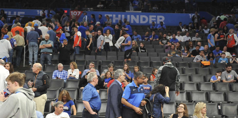 Basket: la NBA suspend sa saison après un cas de coronavirus chez un joueur
