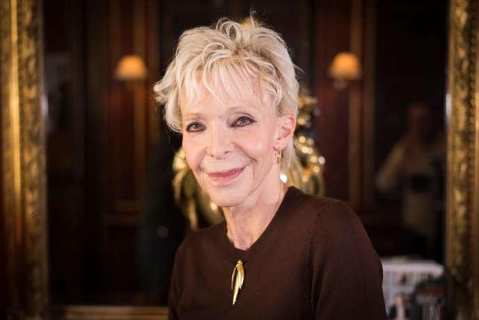 Tonie Marshall, à Paris en septembre 2017.