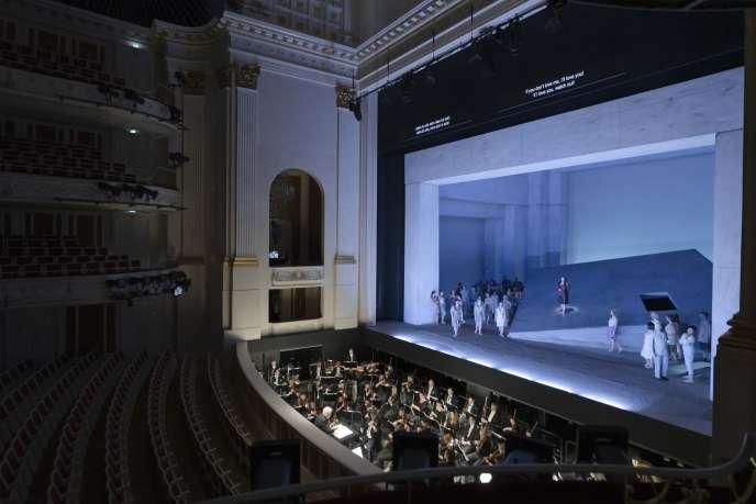 «Carmen», interprété sans public au Staatsoper de Berlin, le 12 mars 2020, pour une diffusion vidéo gratuite.