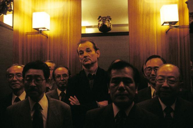 Bill Murray (centre) dans«Lost In Translation»de Sofia Coppola.