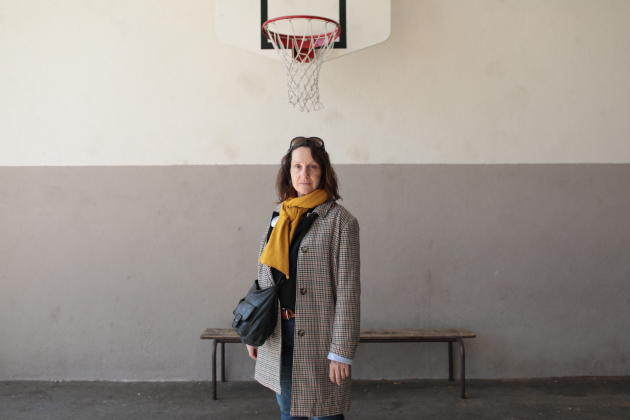 A Marseille, le 15 mars 2020. Isabelle Guien, enseignante, est venue en famille. « Il ne fallait pas annuler ces élections. Quand on est un citoyen, virus ou pas, on y va. Et pour moi, c'était évident, car il faut que cette mairie change absolument. »