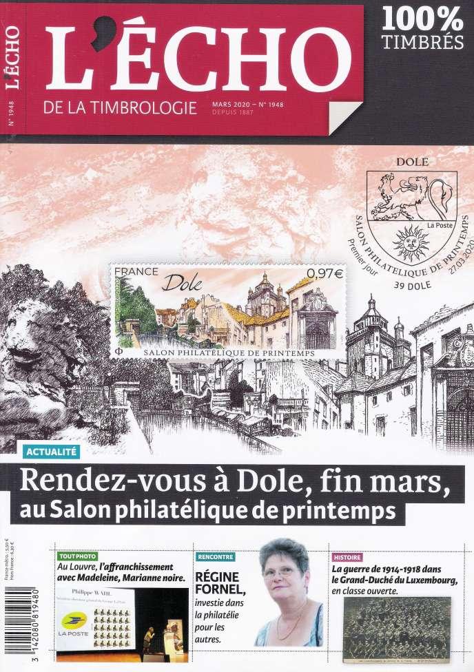 « L'Echo de la timbrologie », 84 pages, 5,50 euros. En vente par correspondance ou par abonnement auprès de l'éditeur, Yvert et Tellier.