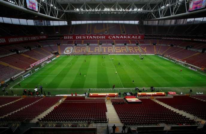 Les derniers matchs du championnat turc de football se sont disputés à huis clos.
