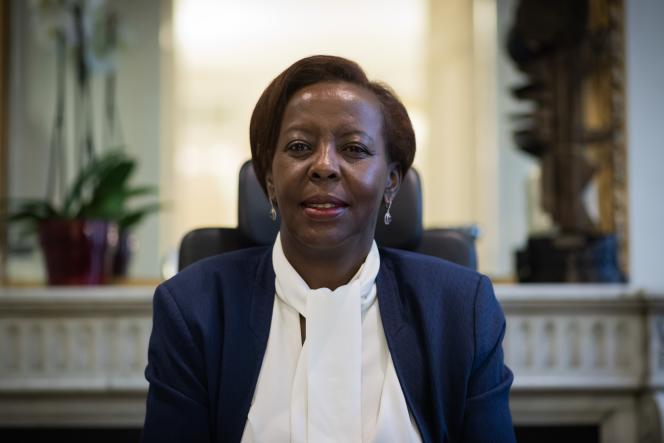 Louise Mushikiwabo, en janvier 2019 à Paris.