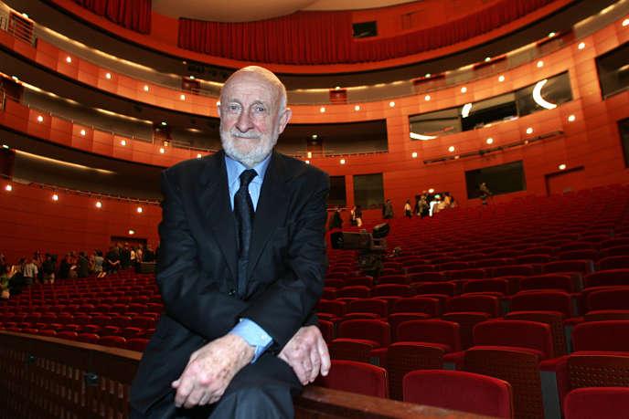 Vittorio Gregotti à Aix-en-Provence, le 29 juin 2007.