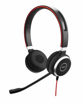 Le meilleur micro-casque USB pour les appels et les téléconférences Le casque Evolve 40 de Jabra