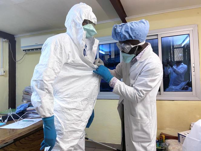 A l'hôpital Laquintiniede Douala, le 17 février 2020.