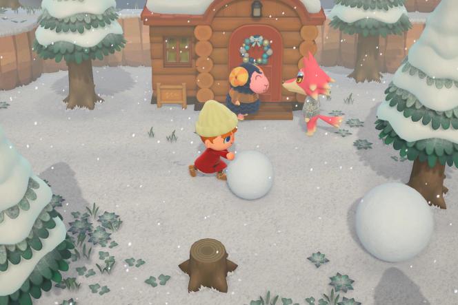 Le jeu sortant le premier jour du printemps, il vous faudra attendre neuf mois au moins pour faire vos premières boules de neige.