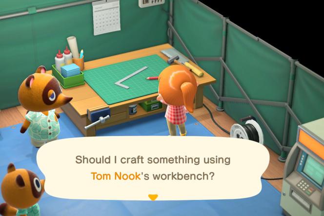 Dans ce jeu, qui existe en version française, il est désormais possible de fabriquer ses propres objets.