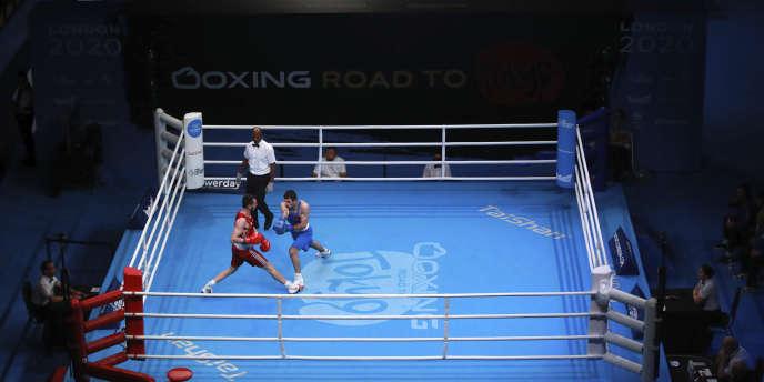 Le TQO européen de boxe a été suspendu à Londres.