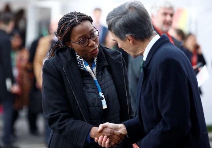 La secrétaire générale de la Commission économique des Nations-unies pour l'Afrique, Vera Songwe, à Londres, le 20 janvier 2020.