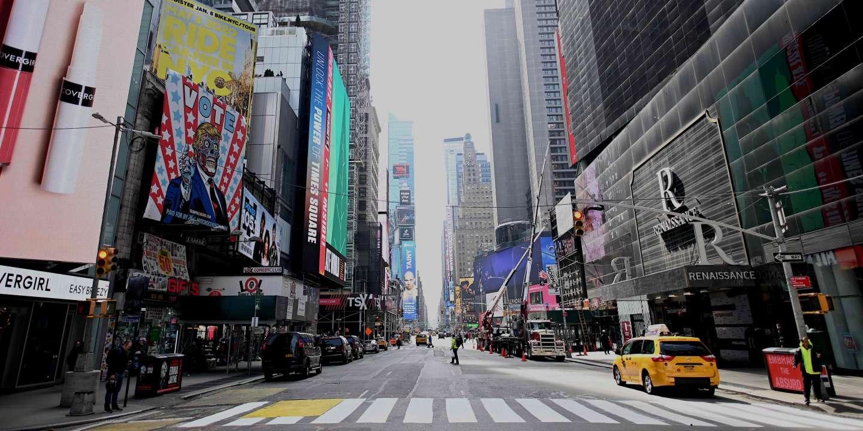 Coronavirus : New York, la ville qui ne dort jamais, a finalement ...