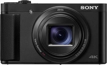 Gros téléobjectif et petit boîtier Le Cyber-shot HX99 de Sony