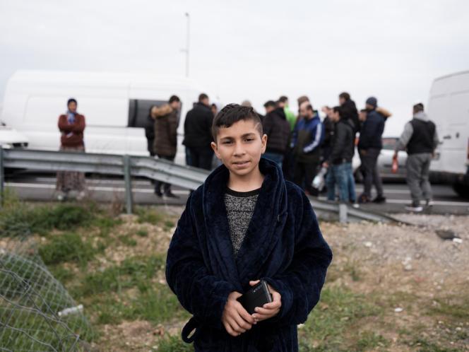 Sauri, bloqué à la frontière, originaire de Roumanie, vit à Hannovre.