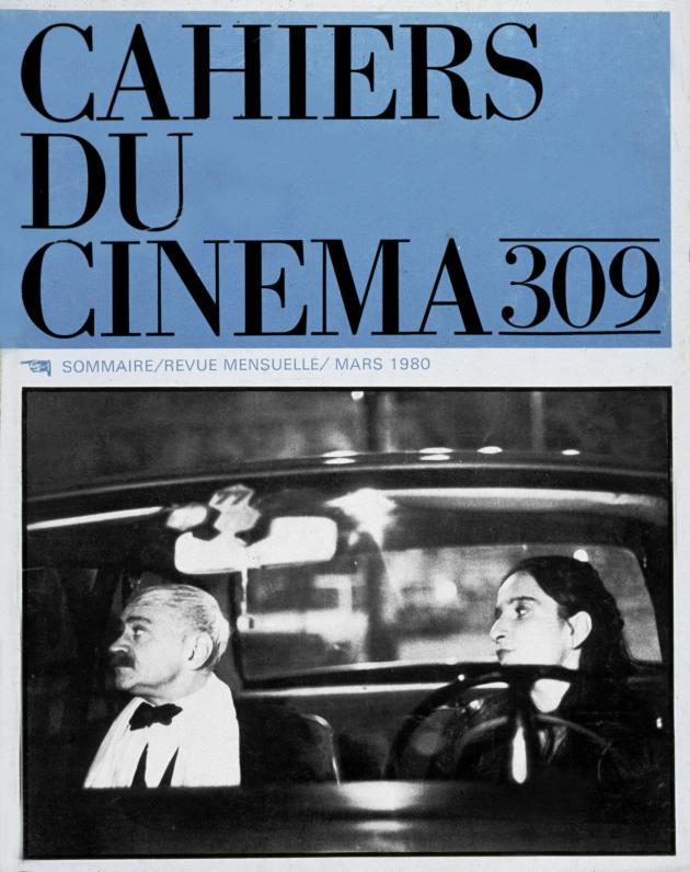 Couverture des Cahiers du cinéma, mars 1980.