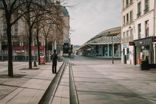 Châtelet-les-Halles, à Paris, le 17 mars.