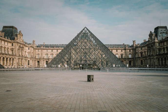 Le Louvre, à Paris, mardi 17 mars.