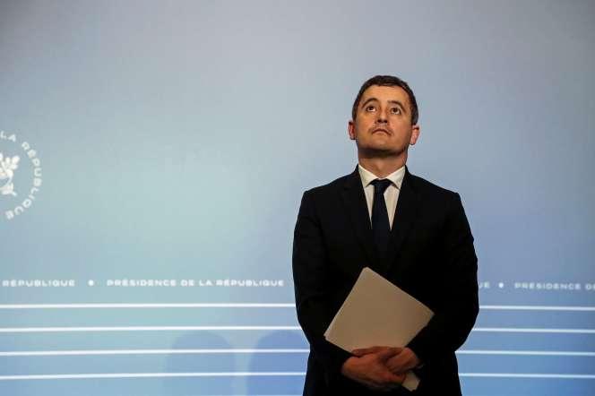 Leministre de l'action et des comptes publics, Gérald Darmanin, à Paris, le 18 mars.