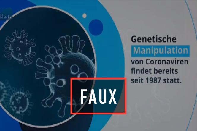 Pseudo-journal télévisé réalisé par le site suisse Kla.tv.