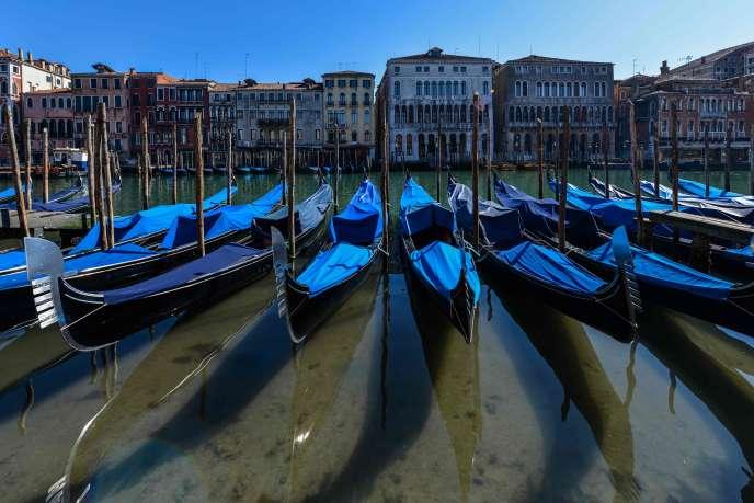 A Venise, le 18 mars.