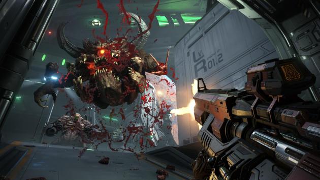 Les démons grotesques et presque« rétro» de «Doom II» font leur retour dans« Eternal».