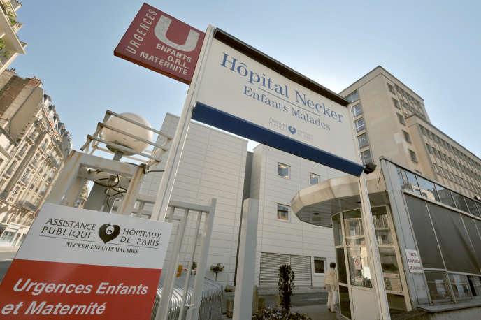 Pour l'Ile-de-France, c'est l'hôpital Necker qui centralise les cas d'enfants potentiellement contaminés par le Covid-19.