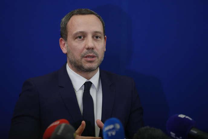 Le secrétaire d'Etat chargé de la protection de l'enfance, Adrien Taquet, à Paris, le 5 février 2020.