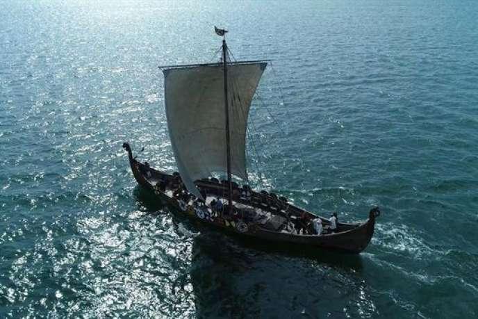 Une image extraite du documentaire d'Aleksandar Dzerdz,«Birka, les mystères d'un chef viking», sur RMC Découverte.