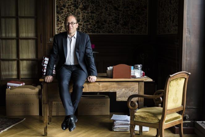 L'avocat Bertrand Périer, le 5 septembre 2019 à Paris.