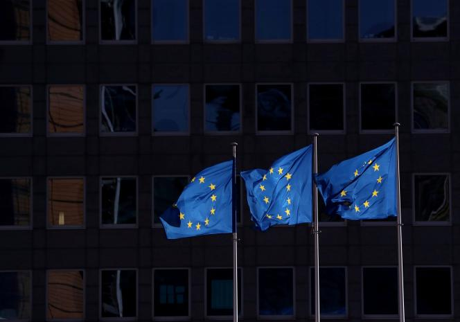 Le siège de la Commission européenne à Bruxelles, le 19 février.