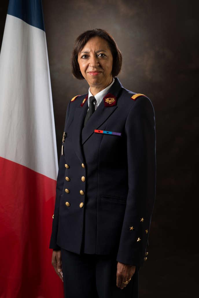 Maryline Gygax Généro, médecin générale, directrice du service de santé des armées, le 13 septembre 2017 à Paris.