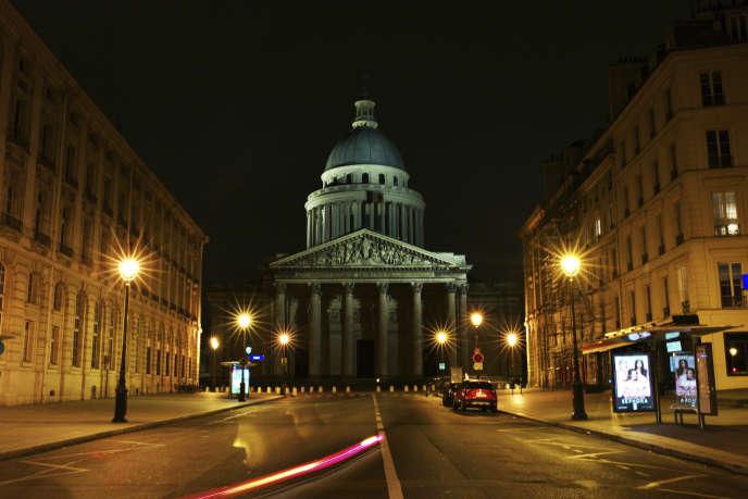 Le Panthéon à Paris, le 21 mars 2020.