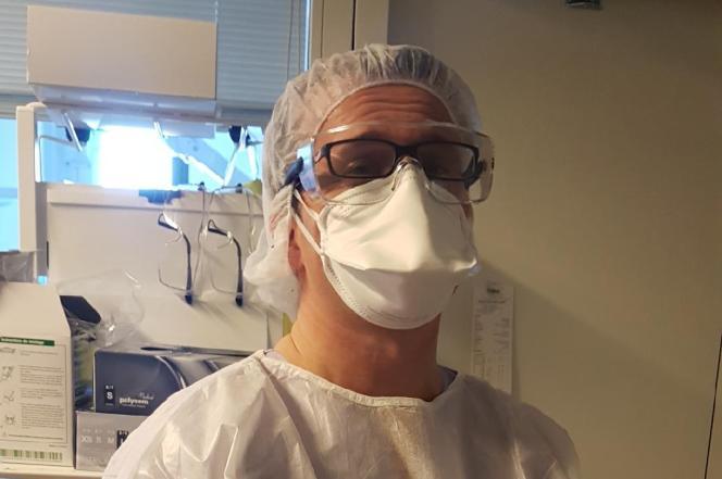 Nicolas Van Grunderbeek, réanimateur au centre hospitalier d'Arras (Pas-de-Calais).