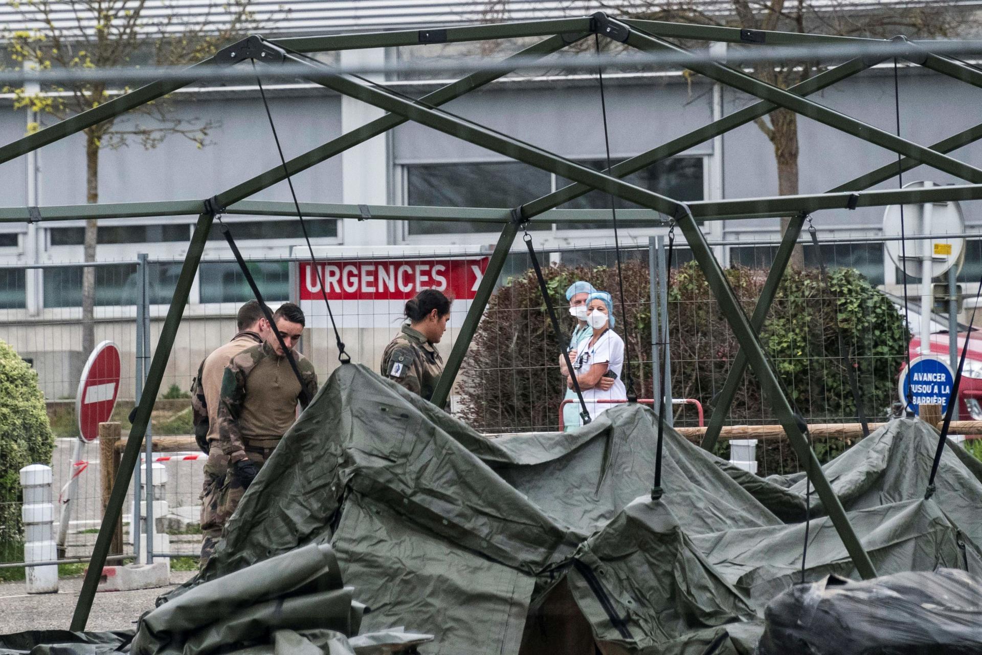 L'hôpital militaire est attendu avec impatience par le personnel de l'hôpital Emile-Muller de Mulhouse.