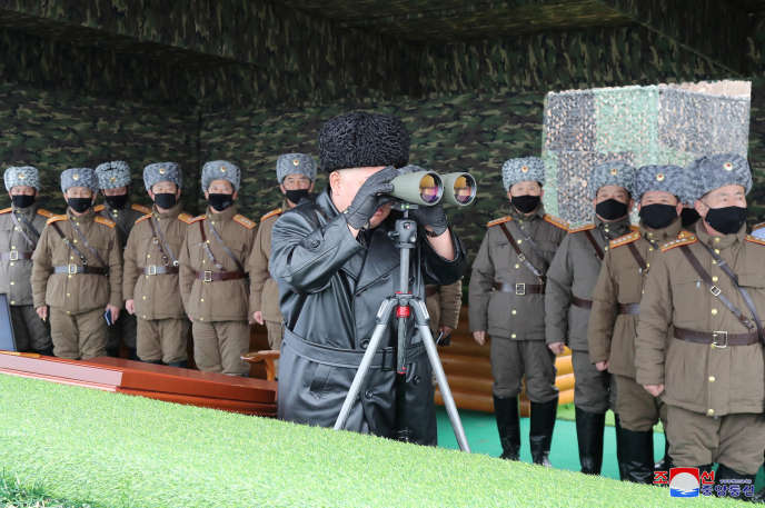 Le président nord-coréen Kim Jong-un, le 29 février.