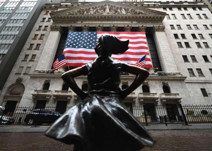 Wall Street, à New York, le 23 mars.