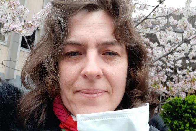 Bénédicte Naudier, infirmière libérale à Paris.