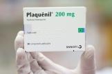 Une boîte de Plaquénil (hydroxychloroquine).