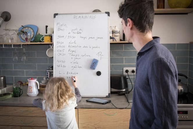 Comment faire pour gérer la classe des plus petits à la maison ?
