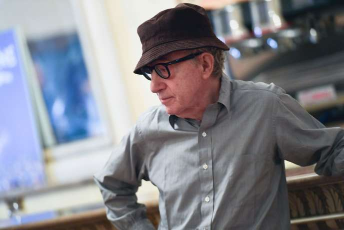 Le cinéaste Woody Allen lors d'une conférence de presse à la Scala de Milan, en juillet 2019.