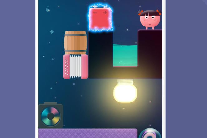 Le jeu Thinkrolls2 permet de se familiariser avec le vent, l'électricité, la gravité, etc.