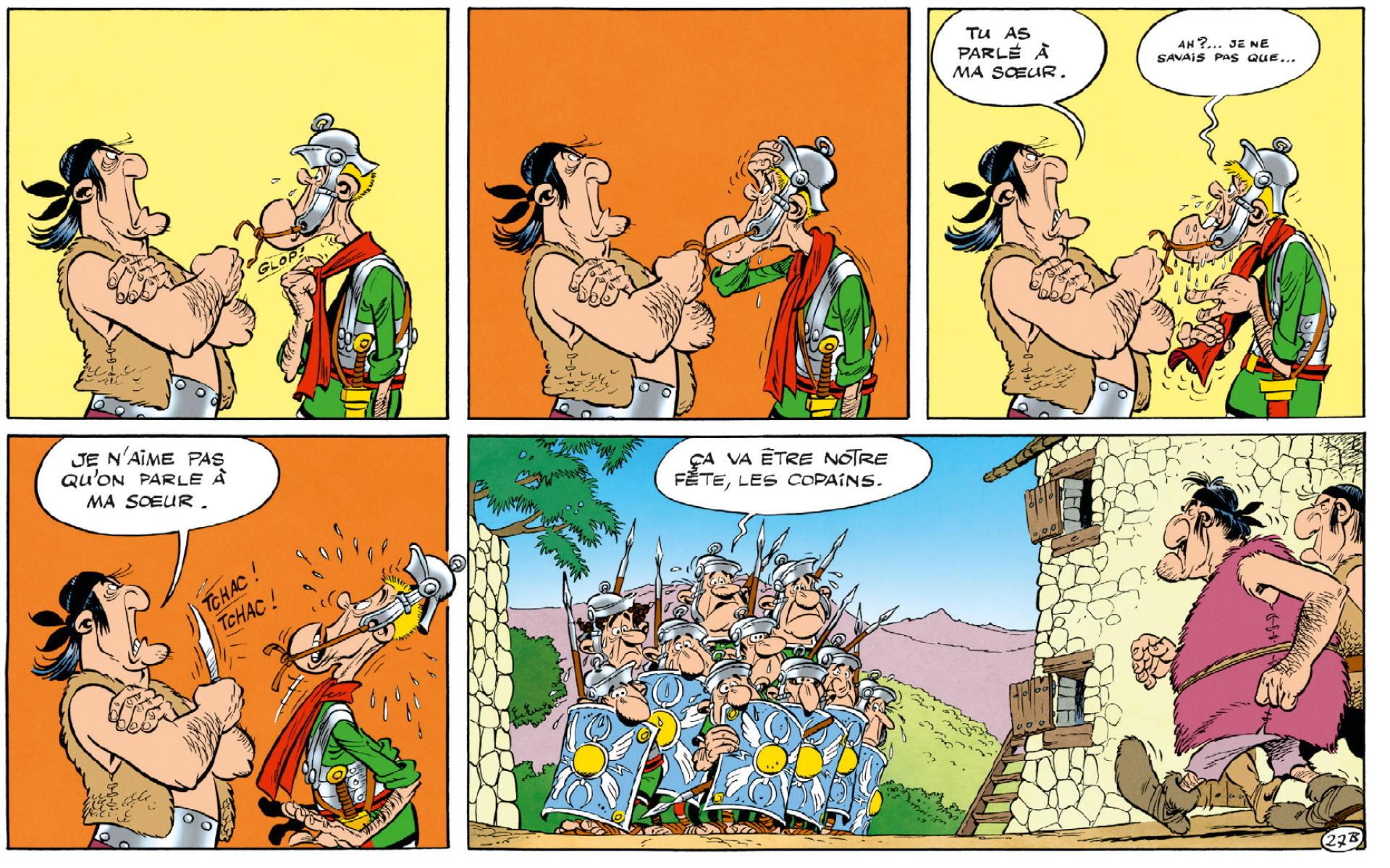 Extrait d'« Astérix en Corse» (1973).