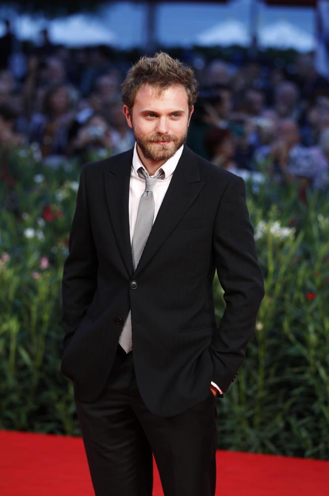 L'auteur Paolo Giordano sur le tapis rouge du festival du film de Venise, le 9 septembre 2010.