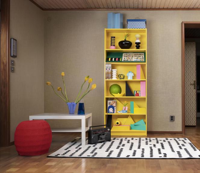 Billy créé parGillis Lundgren pour Ikea.