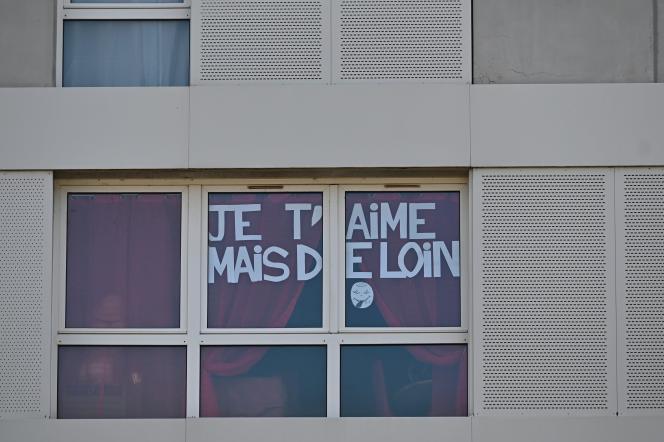 Une fenêtre à Rennes.