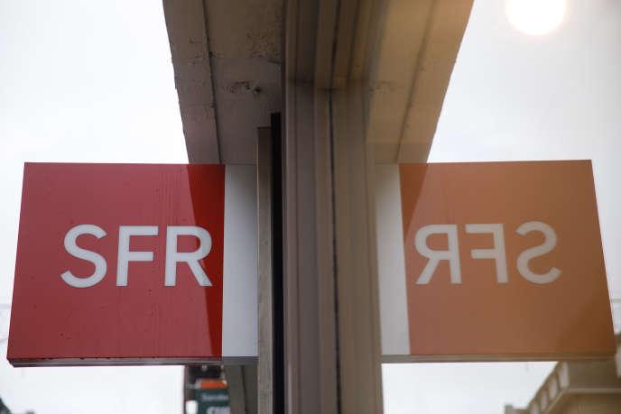 Une agence SFR à Caen, en novembre 2019.
