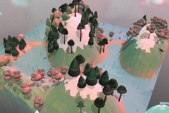 Le jeu «Tocanature» permet de créer des univers et de rencontrer leurs animaux.
