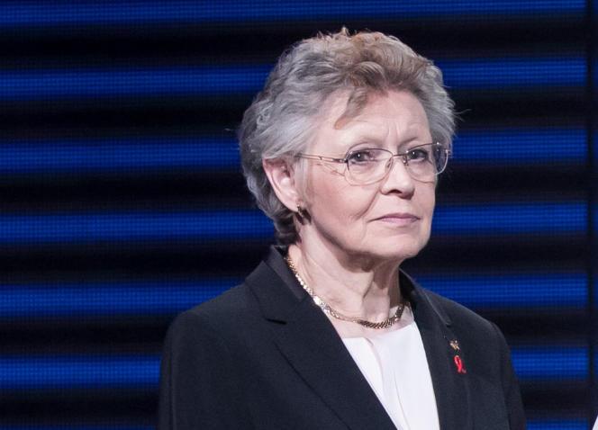 Françoise Barré-Sinoussi, le 10 mars 2020, à Paris.