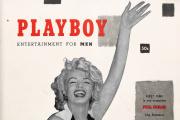 En décembre 1953. Marilyn Monroe, star montante, est en couverture du tout premier numéro de «Playboy».